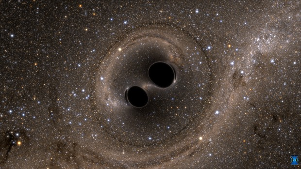 Image | Two Black Holes Merge into One | LIGO Lab | Caltech