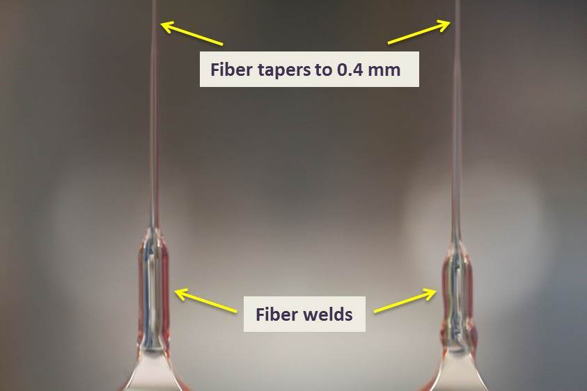 Vibration Isolation Labeled Fibers
