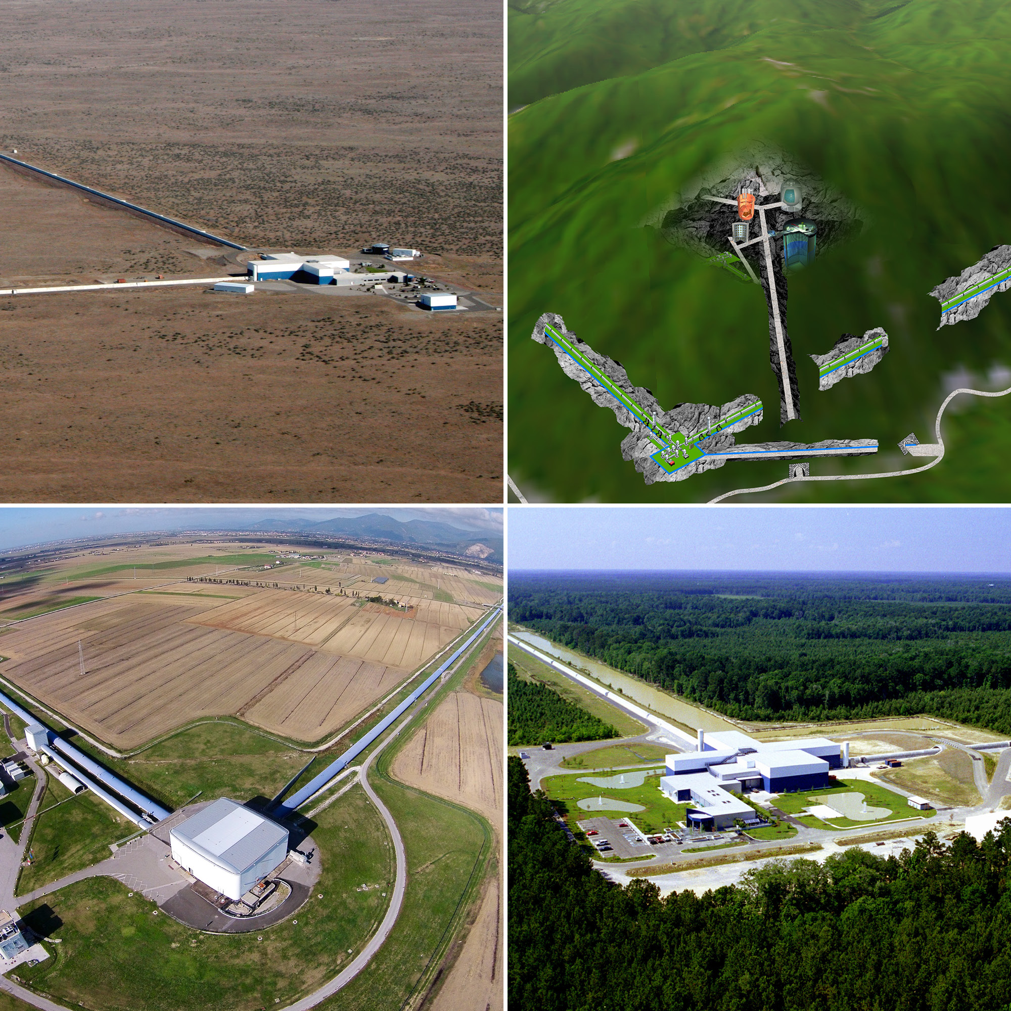 LIGO, Virgo, KAGRA facilities